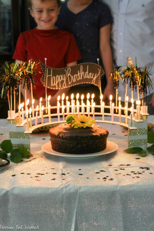 Add the wow factor to your next milestone birthday party!