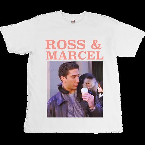 Ross & Marcel Tee - Friends - Unisex - Digital Printing