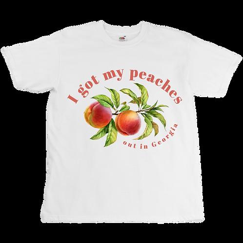 Peaches Tee  - Unisex - Digital Printing