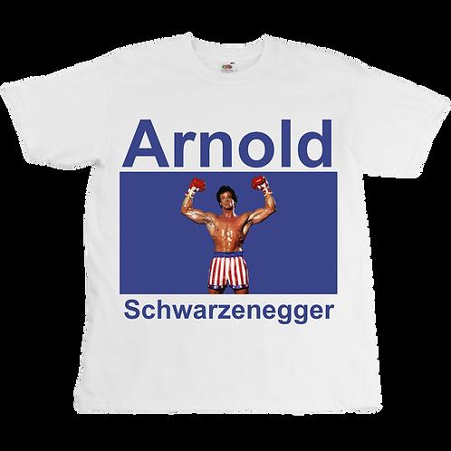 Schwarzenegger x Stallone Tee - Unisex - Digital Printing