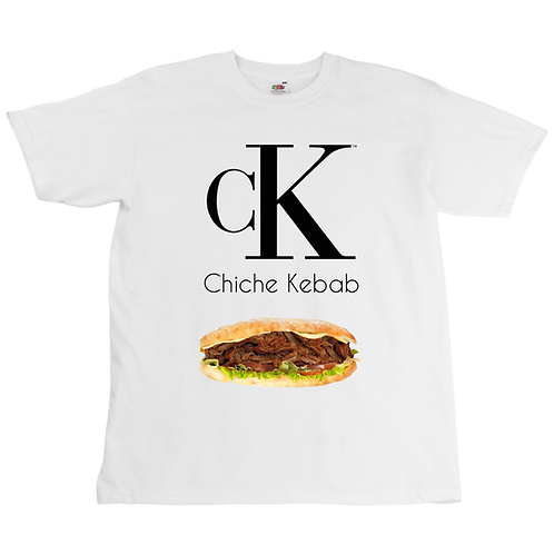 Chiche Kebab x Calvin Klein Tee - Unisex - Digital Printing