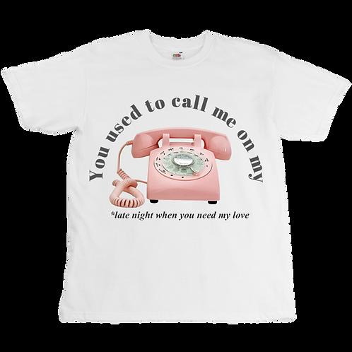 Cellphone Tee  - Unisex - Digital Printing