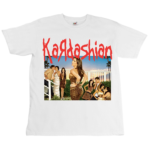 Kardashian x Korn Tee - Unisex - Digital Printing