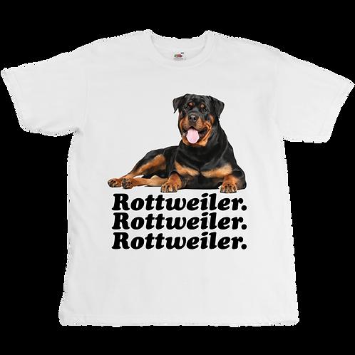 Rottweiler Tee  - Unisex - Digital Printing
