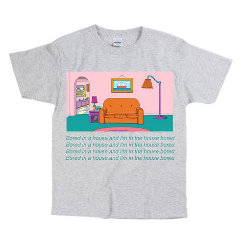 DESTOCKAGE : The Simpsons x Bored in the house  Tee