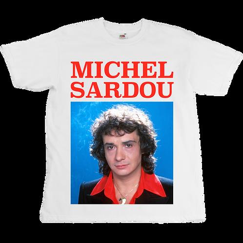Michel Sardou Tee - Unisex - Digital Printing