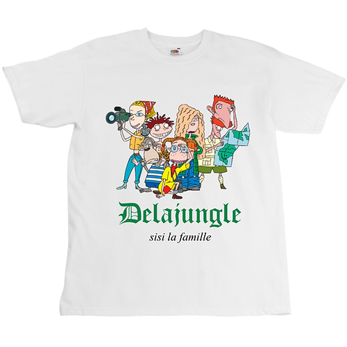 La Famille Delajungle Tee - Unisex - Digital Printing