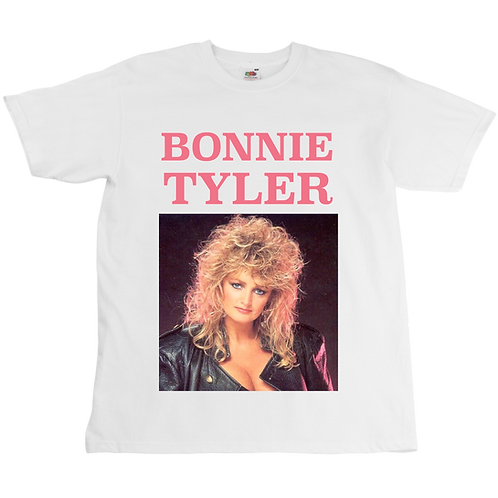 Bonnie Tyler Total Eclipse Of The Heart Tee - Unisex - Digital Printing