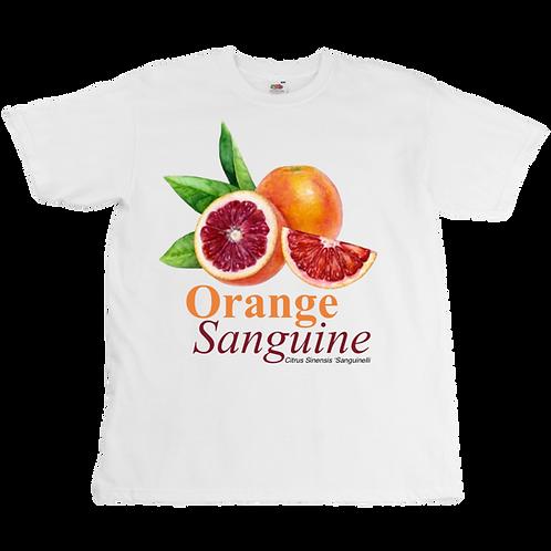 Orange sanguine Tee  - Unisex - Digital Printing