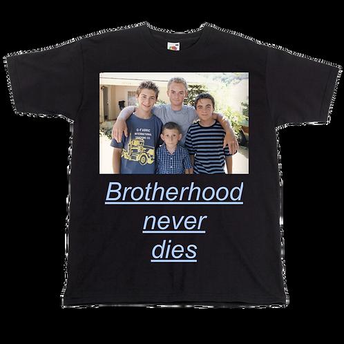 Malcolm Family - Brotherhood Never Dies Tee - Unisex - Digital Printin