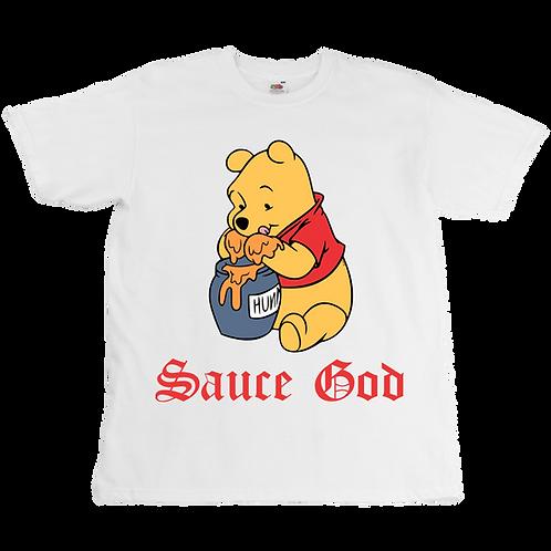Winnie L'Ourson - Sauce God Tee - Unisex - Digital Printing