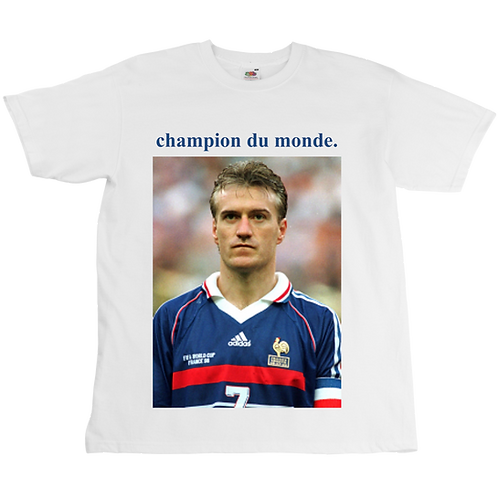 Didier Deschamps Champion du Monde Tee - Unisex - Digital Printing