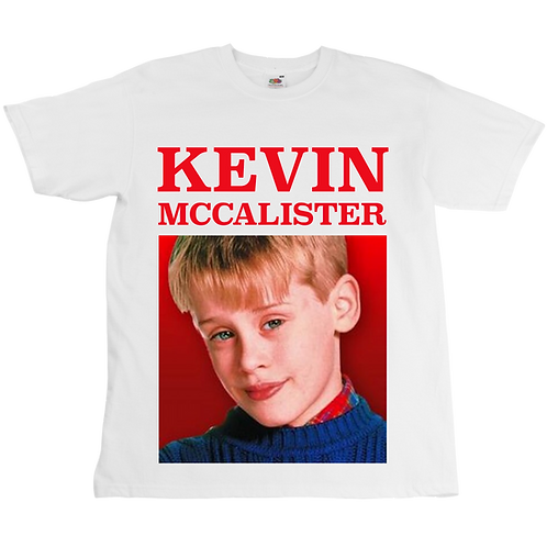 Kevin McCalister Home Alone Tee - Unisex - Digital Printing