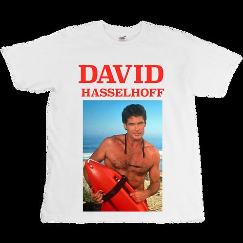 David Hasselhoff - Baywatch Tee - Unisex Tee - Digital Printing