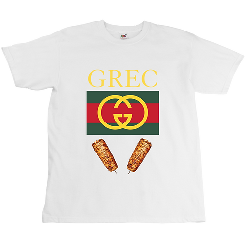 Gucci Grec Tee - Unisex - Digital Printing