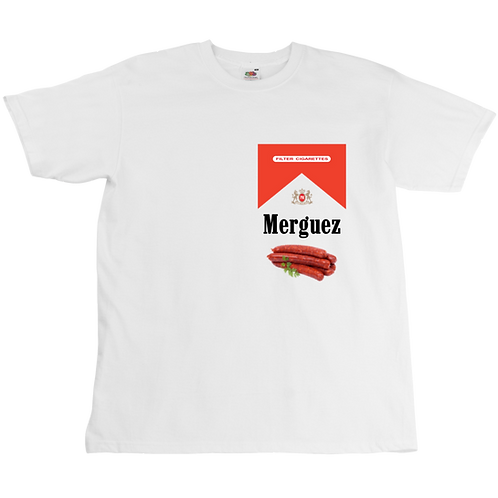 Merguez x Marlboro Tee - Unisex - Digital Printing