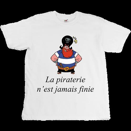 La Famille Pirate x Booba - Piraterie Tee  - Unisex - Digital Printing