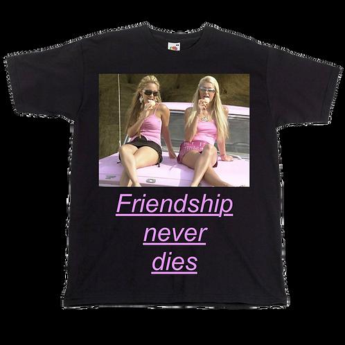Paris Hilton and Nicole Richie - Friendship never dies - The simple life TEE
