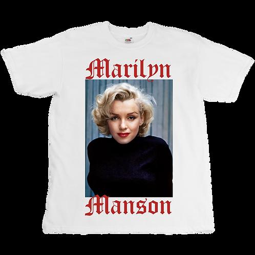 Marilyn Monroe x Marilyn Manson Tee - Unisex - Digital Printing