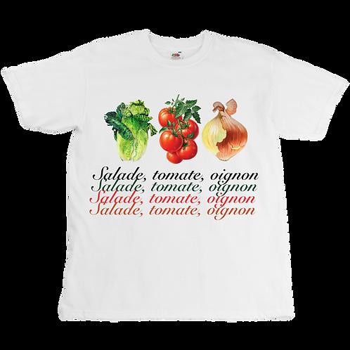 Salade, tomate, oignon Tee  - Unisex - Digital Printing