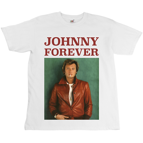 Johnny Forever Tee - Unisex - Digital Printing - White, Black or Grey