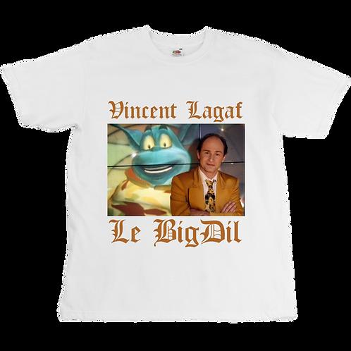Vincent Lagaf - Le BigDil Tee - Unisex - Digital Printing