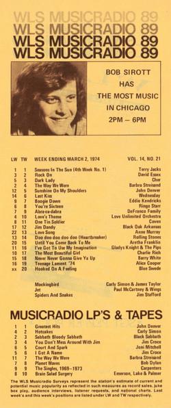 MARCH 2, 1974 - BOB SIROTT