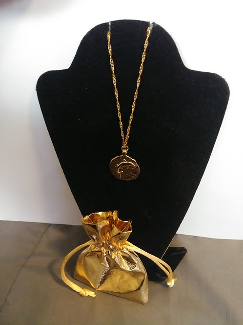 "Black Tuna ""Gold"" Medallion"
