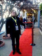 Chris at Opening Night
