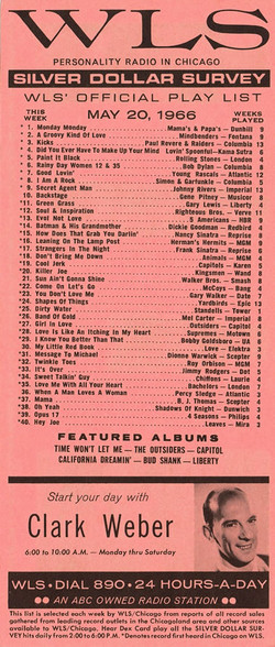 MAY 20, 1966 - CLARK WEBER