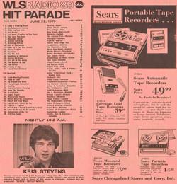 JUNE 22, 1970 - KRIS STEVENS