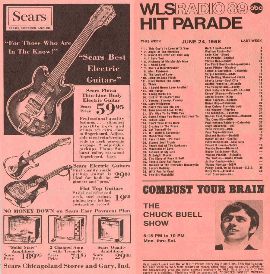 JUNE 24, 1968 - CHUCK BUELL