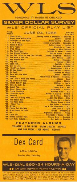 JUNE 24, 1966 - DEX CARD
