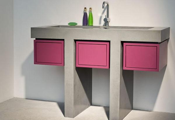 Wastafel inclusief meubel