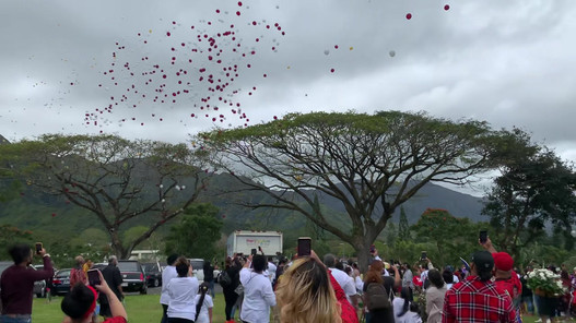 Balloon Release for Funeral