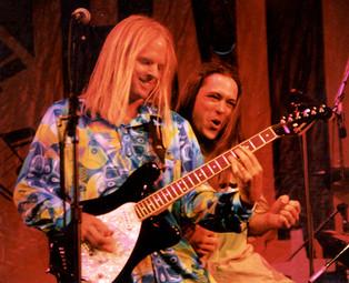 Rick Kraft and Ric at Taste of Newport