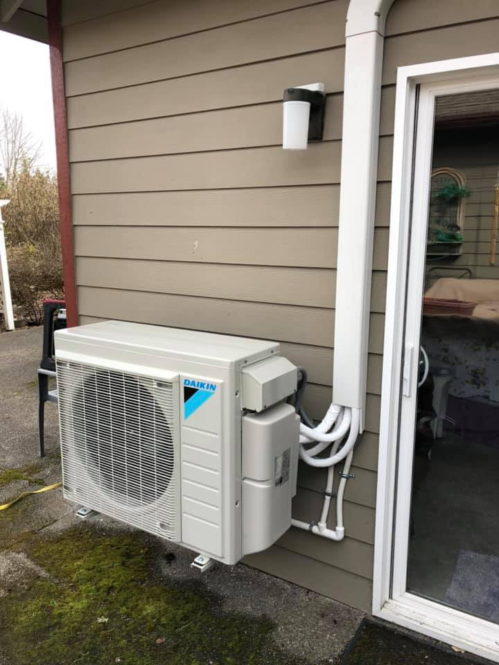 Ductless HVAC systems