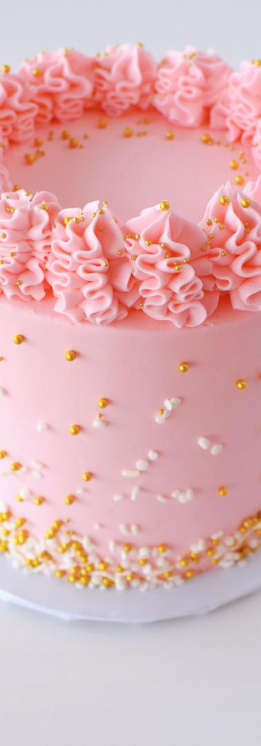 Pink Sprinkle Cake