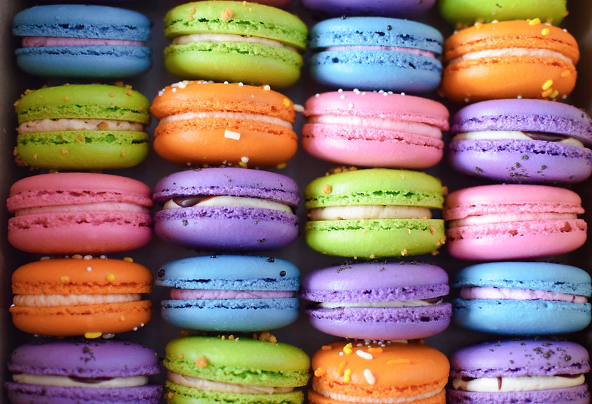 Colorful Macaron Wallpaper