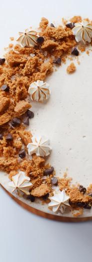 Cookie Crumble Brown Sugar Buttermilk Cake