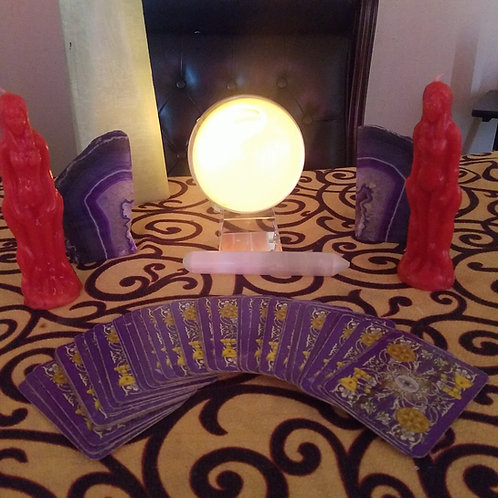 psychic and Tarot reading(via phone or video)