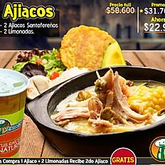 Hoy 2do Ajiaco GRATIS por $30.700