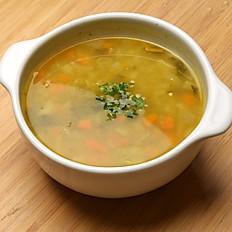 Sopa de pollo o Res / 12por.