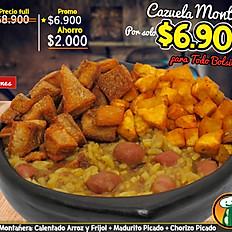 Hoy $6.900 Cazuela Montañera