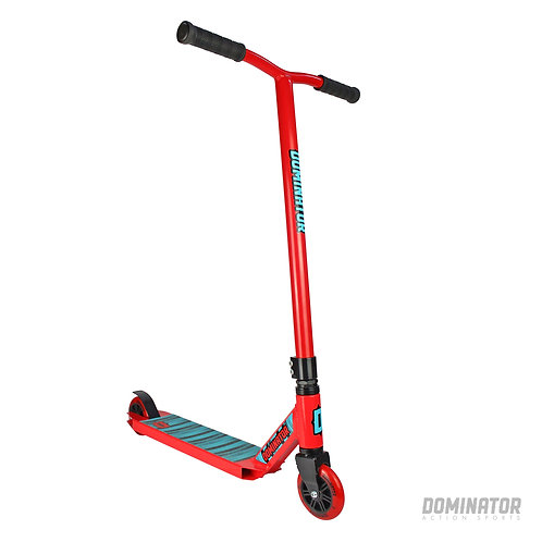 Dominator Cadet Complete Scooter Red/Red