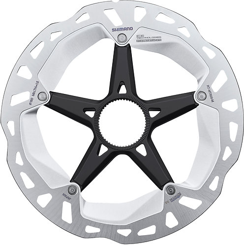 Shimano RT-MT800 rotor with lock ring  Ice Tech, 203 mm