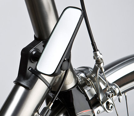 M Part Adjustable mirror for head tube fitment