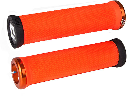 ODI Elite Motion MTB Lock On Grips 130mm Orange