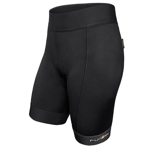 Funkier Ridesse II Ladies 8 Panel Shorts in Black