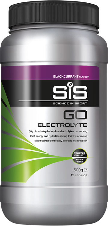 SIS GO Electrolyte Drink Powder Blackcurrant 500g Tub